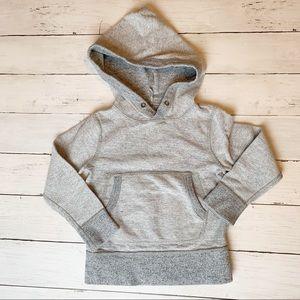 Crewcuts gray hoodie // kids